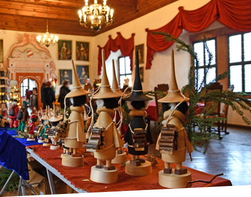 Schloss Rochsburg Adventsmarkt
